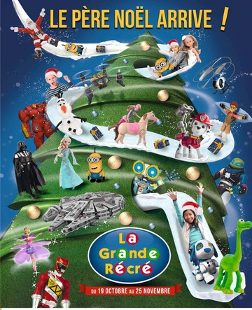 Catalogue La Grande Récré Noël 2015