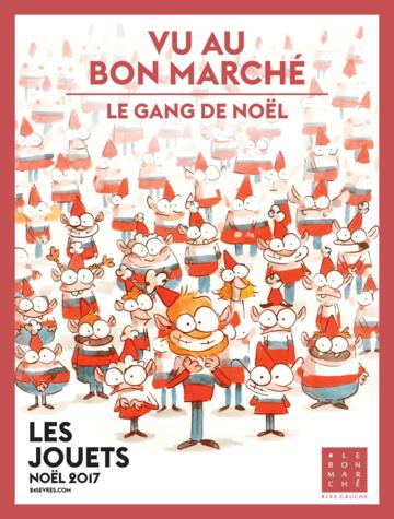 Catalogue Le Bon Marché Rive Gauche France Noël 2017