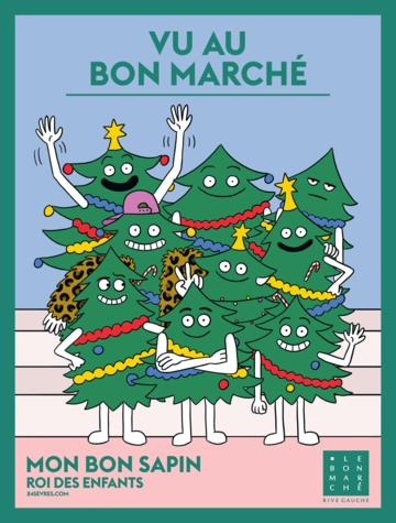 Catalogue Le Bon Marché Rive Gauche France Noël 2018