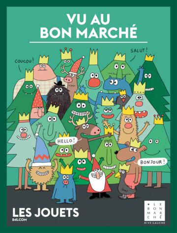Catalogue Le Bon Marché Rive Gauche France Noël 2019