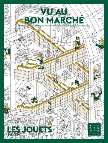 Catalogue du magasin Le Bon Marché Rive Gauche France Noël 2020
