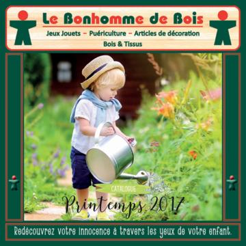 Catalogue Le bonhomme de bois France Printemps 2017