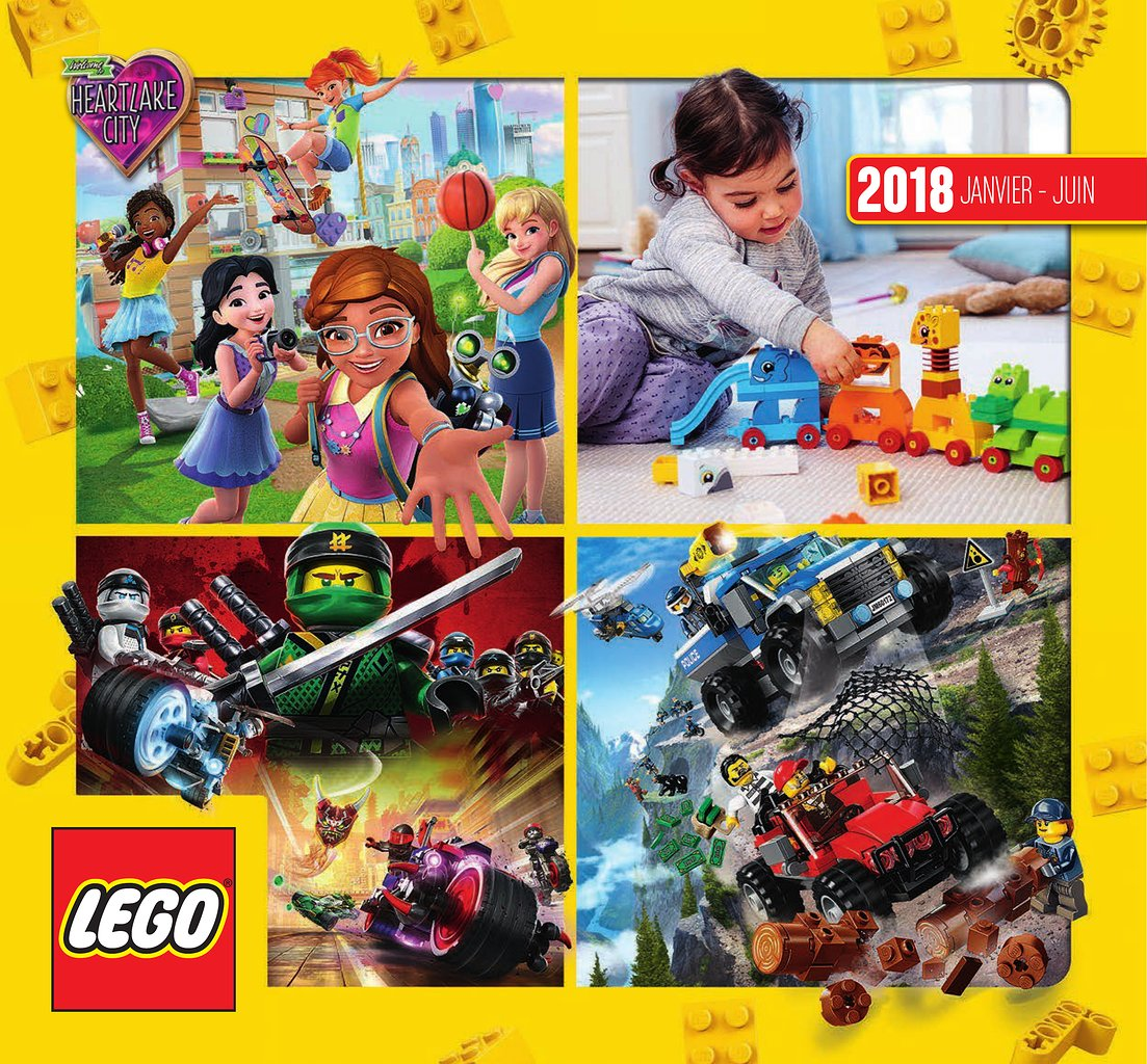 catalogue lego janvier juin 2018 catalogue de jouets. Black Bedroom Furniture Sets. Home Design Ideas
