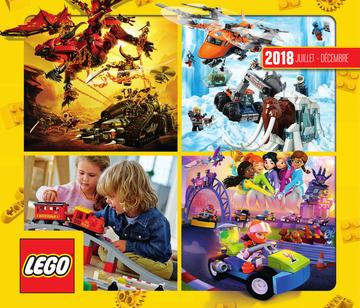 Catalogue LEGO Second Semestre Juillet À Décembre 2018