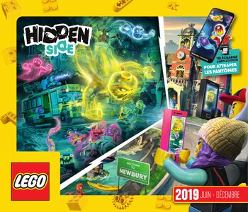 Catalogue LEGO Second Semestre Juin À Décembre 2019 page 1