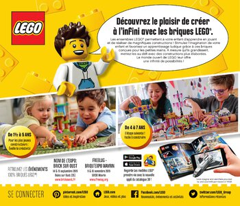 Catalogue LEGO Second Semestre Juin À Décembre 2019 page 2