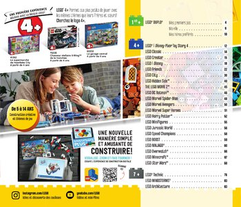 Catalogue LEGO Second Semestre Juin À Décembre 2019 page 3