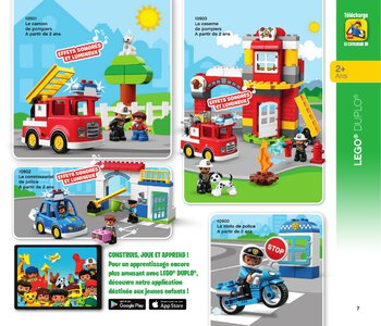 Catalogue LEGO Second Semestre Juin À Décembre 2019 page 7