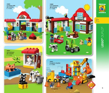 Catalogue LEGO Second Semestre Juin À Décembre 2019 page 9