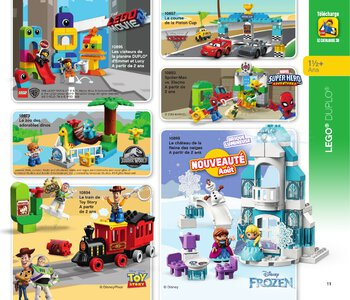 Catalogue LEGO Second Semestre Juin À Décembre 2019 page 11