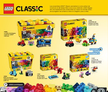 Catalogue LEGO Second Semestre Juin À Décembre 2019 page 14