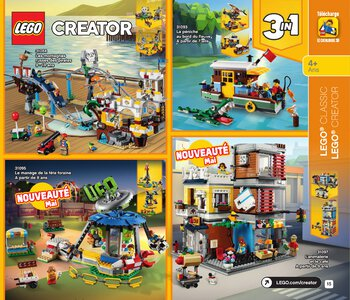 Catalogue LEGO Second Semestre Juin À Décembre 2019 page 15