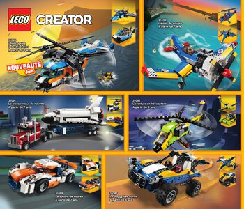 Catalogue LEGO Second Semestre Juin À Décembre 2019 page 16