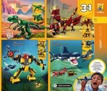 Catalogue LEGO Second Semestre Juin À Décembre 2019 page 17
