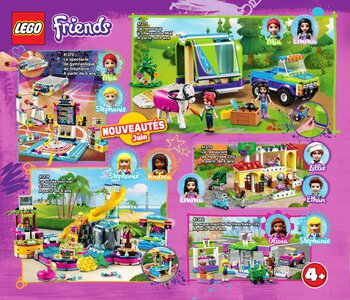 Catalogue LEGO Second Semestre Juin À Décembre 2019 page 22