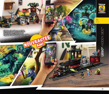 Catalogue LEGO Second Semestre Juin À Décembre 2019 page 43