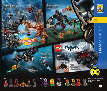 Catalogue LEGO Second Semestre Juin À Décembre 2019 page 47