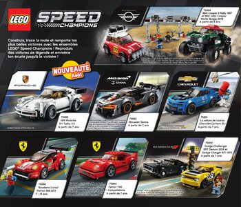 Catalogue LEGO Second Semestre Juin À Décembre 2019 page 58