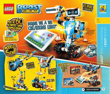 Catalogue LEGO Second Semestre Juin À Décembre 2019 page 59