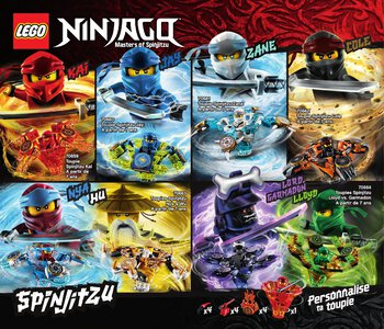Catalogue LEGO Second Semestre Juin À Décembre 2019 page 60