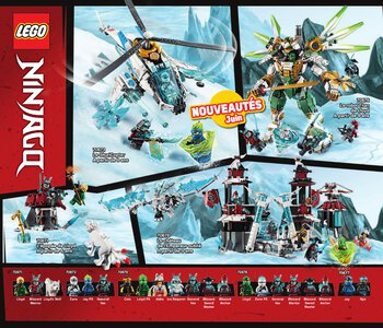 Catalogue LEGO Second Semestre Juin À Décembre 2019 page 62