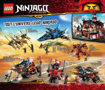 Catalogue LEGO Second Semestre Juin À Décembre 2019 page 64