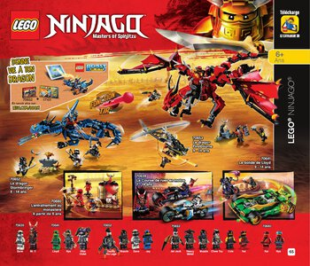 Catalogue LEGO Second Semestre Juin À Décembre 2019 page 65