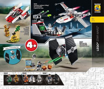 Catalogue LEGO Second Semestre Juin À Décembre 2019 page 73