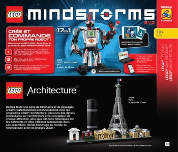 Catalogue LEGO Second Semestre Juin À Décembre 2019 page 83
