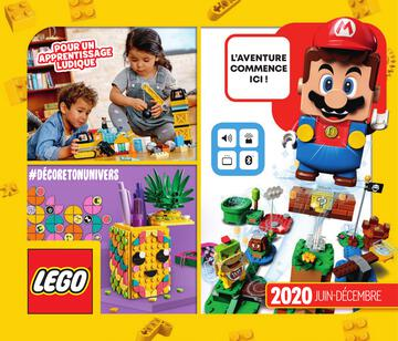 Catalogue LEGO Second Semestre Juin À Décembre 2020
