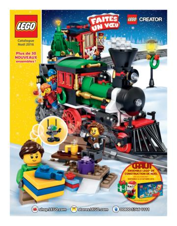 Catalogue LEGO Noël 2016