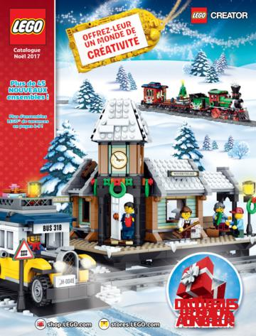 Catalogue Lego Noël 2017