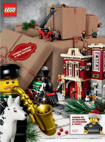 Catalogue LEGO Noël 2018