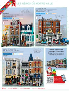 Catalogue LEGO Noël 2020 page 62