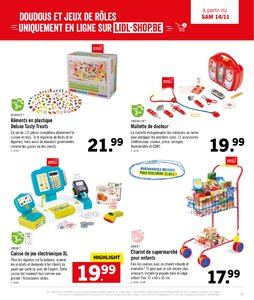 Catalogue Lidl Belgique Noël 2020 page 35