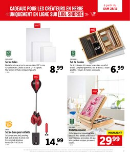 Catalogue Lidl Belgique Noël 2020 page 47