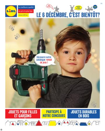 Catalogue Lidl Belgique Saint Nicolas 2016