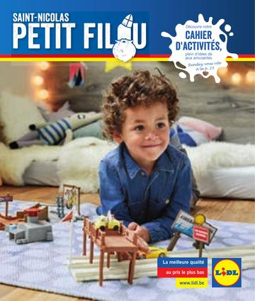 Catalogue Lidl Belgique Saint Nicolas 2017