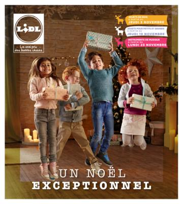 Catalogue Lidl Noël 2015