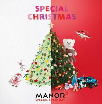 Catalogue Manor Suisse Noël 2017