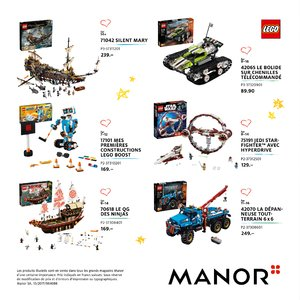 Catalogue Manor Suisse Noël 2017 page 54