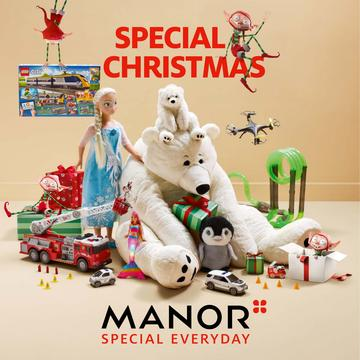 Catalogue Manor Suisse Noël 2018