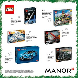 Catalogue Manor Suisse Noël 2018 page 52