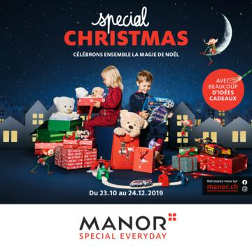 Catalogue Manor Suisse Noël 2019