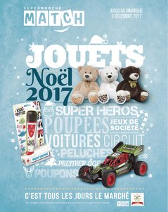 Catalogue Supermarché Match Noël 2017 page 1
