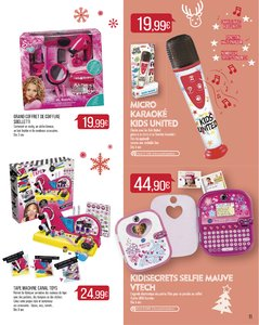 Catalogue Supermarché Match Noël 2017 page 11
