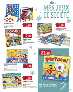 Catalogue Supermarché Match Noël 2017 page 19