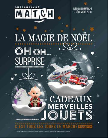 Catalogue Supermarchés Match Noël 2018