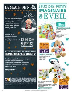Catalogue Supermarchés Match Noël 2018 page 2