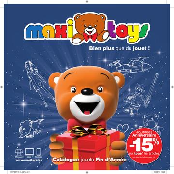 Catalogue Maxi Toys Belgique Noël 2018